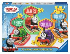 Thomas & Friends - 4 Friends - 10, 12, 14, 16 Piece Large Shaped Jigsaw…