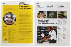 Restyle of the 'Rotterdampas' en 'LekkerPuh' magazines. With photography by Ruud Baan and Menno Bouma.