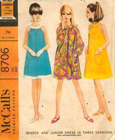 1960's dress patterns