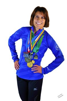 uh-MAZING woman...ran marathons, beat cancer, had an ostomy...yeah, she's cool.