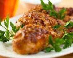 Cuisses de poulet grillées au barbecue au miel et moutarde : http://www.fourchette-et-bikini.fr/recettes/recettes-minceur/cuisses-de-poulet-grillees-au-barbecue-au-miel-et-moutarde.html