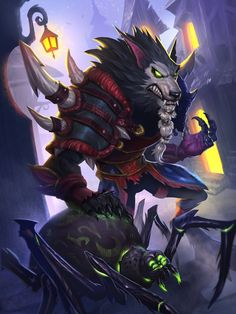 The Witchwood full art - Hearthstone Wiki World Of Warcraft Game, World Of Warcraft Characters, Warcraft Art, Fantasy Characters, Fantasy Creatures, Mythical Creatures, Werewolf Art, Dragon Rpg, Vampires And Werewolves