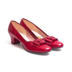 IRUS DAMEN PUMPS Schuhe 50er 60er TRUE VINTAGE Antik Retro