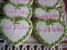 engagement cookies by decadent cookie, via Flickr