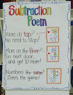 Subtraction Poem, I saw this product on TV and have already lost 24 pounds! http://weightpage222.com