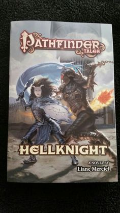Out today! Hellknight by Liane Merciel. Thanks Tor Books!  @torbooks #bookmail  #bookhaul https://mightythorjrs.wordpress.com