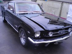 ≪No434≫  ・ニックネーム  Narly     ・メーカー名、車種、年式  FORD Mustang Fastback 1965     ・アピールポイント  弾丸タイプミラー(実用では見にくいけど、見た目が気に入ったので...)