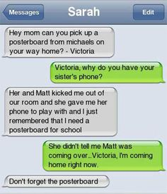 Funny Text Messages of the Day