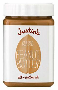 Justin's Natural Classic Peanut Butter 16 oz. Jar - http://goodvibeorganics.com/justins-natural-classic-peanut-butter-16-oz-jar/