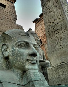 Luxor, Egypt... I've stayed at the hotel in Vegas, so def the same thing right?
