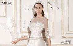 SAMARA | Wedding Dress | 2015 Couture Collection | by Sara Villaverde | Villais