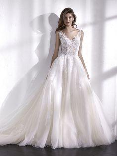 LIBANO robe de mariée décolleté en V