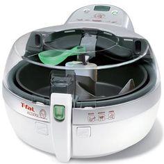 Fritadeira Elétrica Actifry Arno - Utiliza apenas 1 colher de óleo. Mais Saúde e Menos Gordura no Preparo de Alimentos - Ganhe um Livro de Receitas