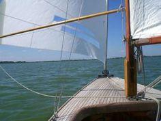 Das erste im Sommer: Ab auf's Boot.