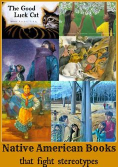 5 Native American Books that do not perpetuate negative stereotypes. #kidlit #globaled These books are for preK- elementary, and show that American Indian culture is not static or extinct, but rather hugely diverse among the tribes. Important for kids to see Native American characters in contemporary settings as well.