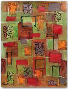 Fresco, original painting by Lynne Taetzsch at ARTBYLT.COM