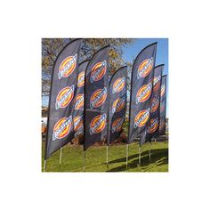 Buy mini high feather advertising flags with custom printed graphic and choice of bases. Feather sailflag with single or double sided print. Feather Flags, Chicago Cubs Logo, Graphic Prints, Mini, Frame, Art, Picture Frame, Art Background, Kunst