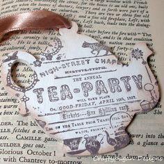 Vintage invite for wedding shower?