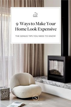 The best ways to make your home look expensive Home decor tips and tricks - diy home decoration tips - home decor tips interiors - home decor tips budget - sleek home decor