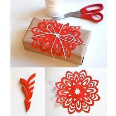 Nesta galeria recolhemos várias sugestões do Pinterest para embrulhar e decorar os seus presentes este ano