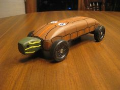 Idea for Jacob's pinewood derby car