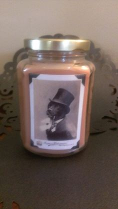 Candle in a Jar / Sir Doggy / Coconut Wax by ShayCandles on Etsy, $24.00