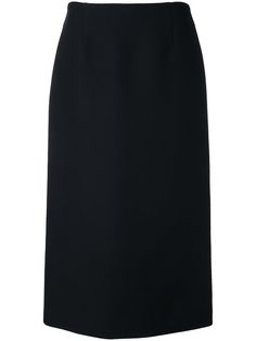 JIL SANDER Midi Pencil Skirt. #jilsander #cloth #skirt