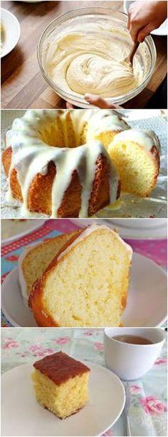 Bolo Francês de Limão Siciliano, como não gostar um bolo fofinho e saboroso? VEJA AQUI>>>Em uma tigelinha misture as raspas do limão com o açúcar usando as pontas dos dedos para as raspas incorporar o sabor. Em outra tigela coloque o açúcar, ovos, iogurte, extrato #receita#bolo#torta#doce#sobremesa#aniversario#pudim#mousse#pave#Cheesecake#chocolate#confeitaria