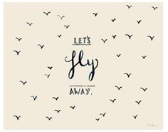 Lets fly away