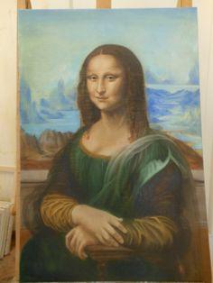 Leonardo da Vinci, La Monna Lisa