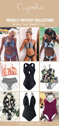 Treat Yourself Hottest Items of This Season! Splash up these fantastic styles next time you're at the beach or sitting pretty by the pool. Enjoy sunshine and breeze during your vacation. Check them out on Cupshe.com!