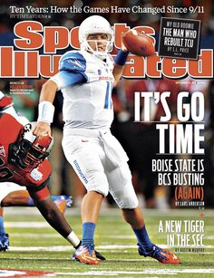 On the Cover: Kellen Moore, College Football, Boise State Broncos  Photographed by: David Bergman / SI