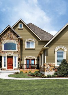 Certainteed Hearthstone Siding What Color Is The Siding Hearthstone Home Exteriors