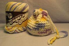Crocheted Itty Bitty Bag
