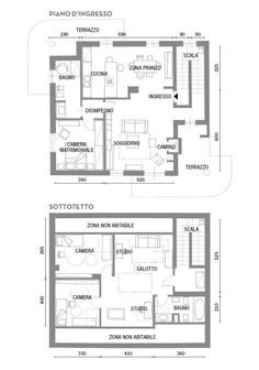 progetti case su due piani planimetrie in 2019 floor