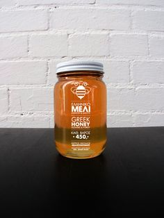 Honey Labeling #01 - Therrios by Thalassinos Anastasiou, via Behance