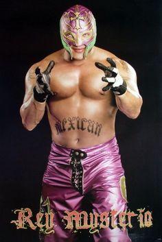 "J-1194 Rey Mysterio Mexican American Professional Wrestler WWE WCW Sport Wall Decoration Movie Poster Size 23.5""x35"" by Thaistuff168, http://www.amazon.com/dp/B009SQ5LKQ/ref=cm_sw_r_pi_dp_ODVPqb0S6NXZX"