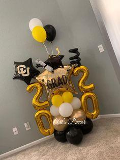 Prom Balloons, Graduation Balloons, Graduation Decorations, Birthday Decorations, Balloon Bouquet Delivery, Balloon Arrangements, Balloon Gift, Balloon Decorations Party, Graduation Celebration