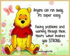 Winne The Pooh, Cute Winnie The Pooh, Winnie The Pooh Friends, Encouragement Quotes, Faith Quotes, Pooh And Piglet Quotes, Cute Quotes, Funny Quotes, Qoutes