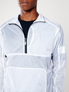 Without Walls Transparent Onion Skin Windbreaker Jacket - Without Walls