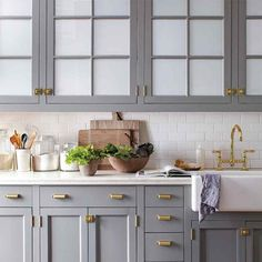Uplifting Kitchen Remodeling Choosing Your New Kitchen Cabinets Ideas. Delightful Kitchen Remodeling Choosing Your New Kitchen Cabinets Ideas. Grey Kitchen Cabinets, Kitchen Inspirations, Kitchen Cabinet Design, Kitchen Cabinetry, Grey Kitchen, Modern Kitchen, Blue Gray Kitchen Cabinets, Kitchen Renovation, Kitchen Cabinets Makeover
