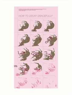 HOW TO DECAY GRACEFULLY von samsketchbook