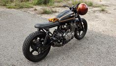 Honda CB750 Brat Style Nighthawk by Abandonedpier #motorcycles #motos #bratstyle | caferacerpasion.com