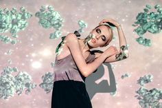 """Photographer: Nastya Openysheva Artist: Anisiforov Sergey Video-art: Anton Nekrasov Stylist: Oksana Andreeva Molel: Mila Fashion design: CONTRACODE Location: """"Sahar""""  #CONTRACODE #fashion #dress #contrast #art #video_art"""