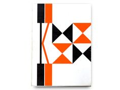 """1954 Knoll Catalog designed by Herbert Matter. I love the Egyptian style """"K"""" with the giant square serifs. The geometric letter form mirrors the International building style of the period."""