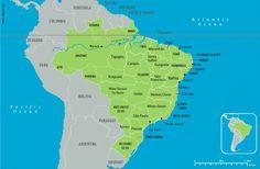 Novos Estados Brasileiros | Proposta de Unidade Federativa | Novas Províncias | Mapa do Brasil Impérial | Império | Novo Mapa do Brasil | New States of Brazil | New Provinces of Brazil | Brazilian States | Estados Brasileiros | Gurgueia | São Francisco | Tapajós | Carajás | Iguaçu.