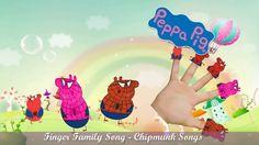 Finger Family Song Compilation • Peppa Pig  Finger Family Nursery Rhymes...