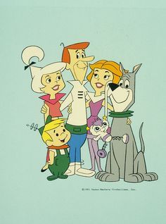 The Jetsons- my favorite cartoon