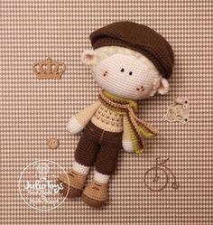 Cicilist crochet pattern by Julio Toys