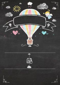 Uau! Veja o que temos para Chalkboard Balão de Ar 1